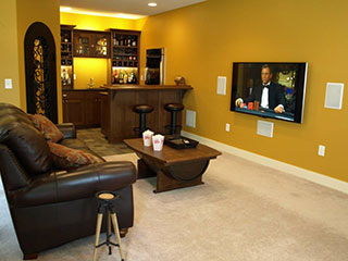 Basement Finishing Pictures basement finishing & remodeling contractor / company in des moines