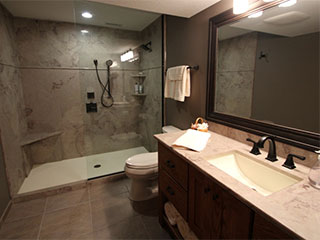 Fleming Construction In Des Moines Is Your Bathroom Remodeling Expert - Bathroom remodel des moines