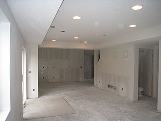 Drop Ceilings U2013 A Drop Ceiling System Is The Most Common Way To Finish A  Remodeled Basement Ceiling. Some Are Afraid This Option Will Make Their  Basement ...
