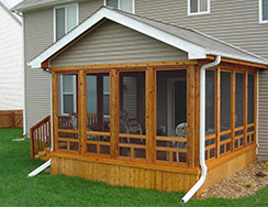 Sunroom additions enhance the space value and beauty of for Screen room addition plans