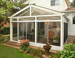 Screened In Porch U2013 A Screen Room Or Screened In Porch Is Your Most Basic  Sunroom Addition. Its Use Is Limited To Seasons That Allow You To Be  Outdoors As ...